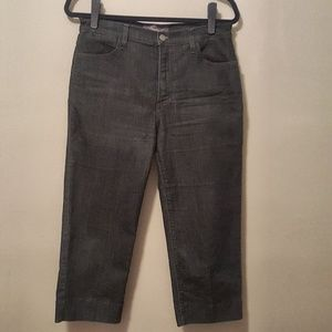 NYDJ Cropped Jeans w/Lift and Tuck Technology